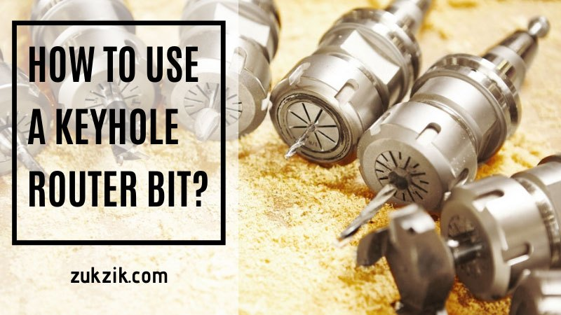 how to use a keyhole router bit