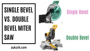 Single Bevel vs. Double Bevel Miter Saw: Which is Best For You?
