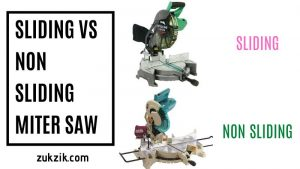 Sliding Vs. Non-Sliding Miter Saw – The Better One and Why